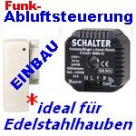 Abluft-Steuerung mit Funk-Magnetsensor