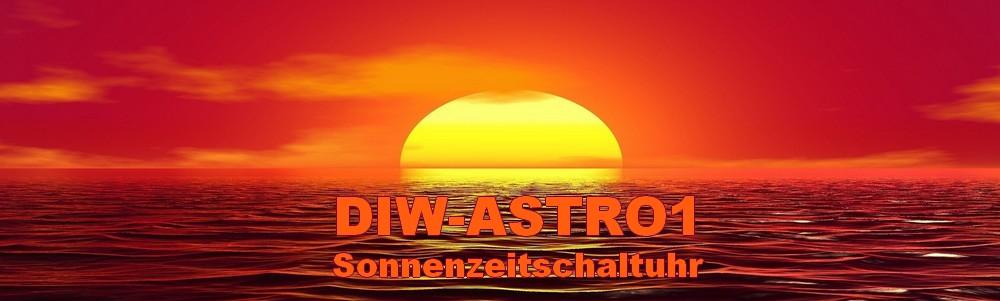 DATA-STICK zu DIW-ASTRO1 AHD16T Astrotimer astronomische Sonnen-Zeitschaltuhr