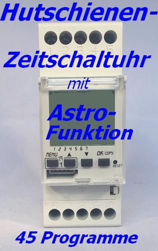 Astronomische Zeitschaltuhr ASTRO-LUX-TIME 113375 Tages-/Wochenuhr
