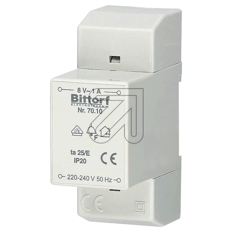 Universal-Klingeltrafo Bittorf 220-240V 8V/1A