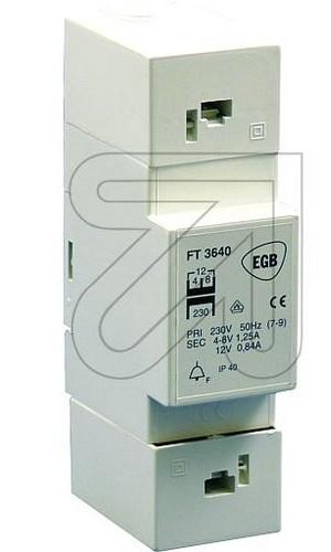 Universal-Klingeltrafo EGB 230V-4-8-12V