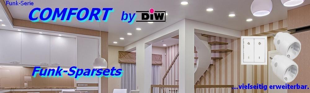 Funk-Sparset ET-610 EWS-20 + 2x ET-3000 Serie DIW-Comfort
