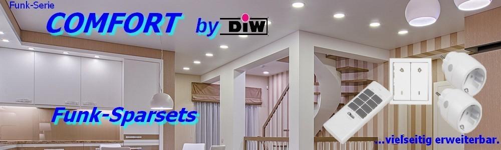 Funk-Sparset ET-611 EWS-20 + 2x ET-3000 + ET-12 Serie DIW-Comfort