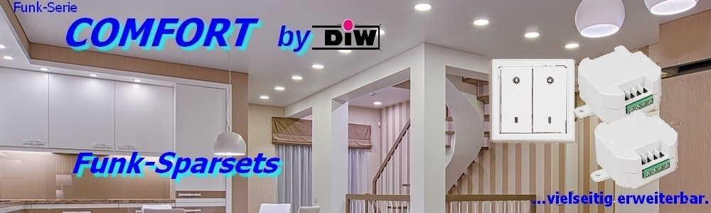 Funk-Sparset ET-630 EWS-20 + 2x ETE-230 Serie DIW-Comfort