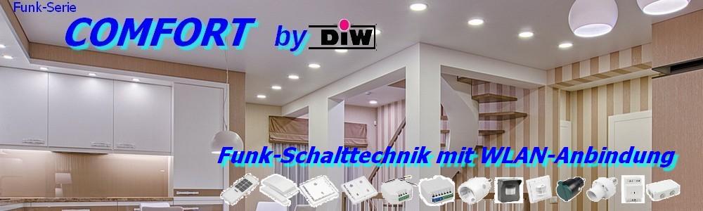 Set 3xETW-2000 WiFi-Funkstecker DIW-Comfort + Handsender ET-12