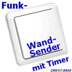 DIWST-8800 Funk-Wandsender mit Timer IT-kompat.