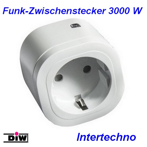 IT-3000 Power-Zwischenstecker 3000W Intertechno
