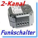 2-fach Funk-Empfänger Intertechno ITL-2000