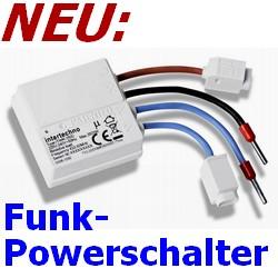 ITWR-3500 Intertechno Funk-Powerschalter Modul zum Einbau hinter Steckdosen [klick]