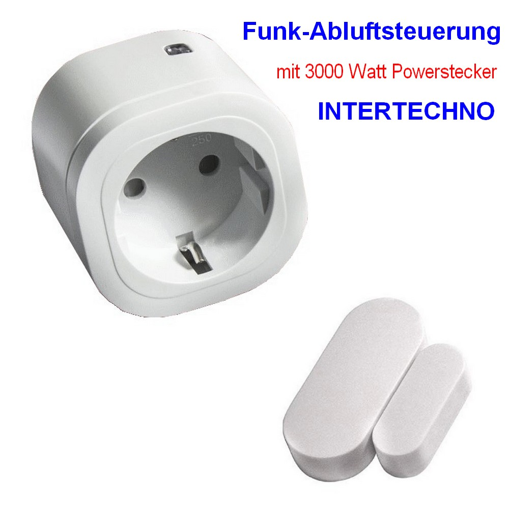Funk Abluftsteuerung Intertechno S_ITM-200-IT-3000 Watt Powerstecker