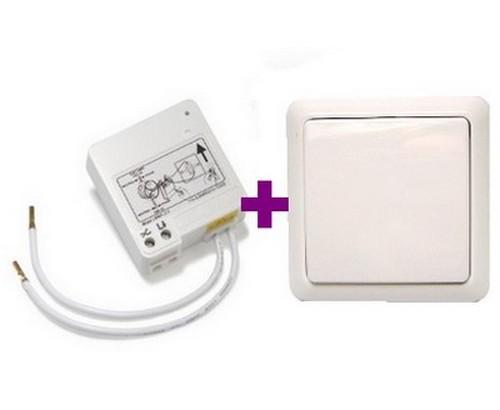ITL-230 Funk-Modul f. Lichtschalter + YWT-8500 Wandsender Intertechno