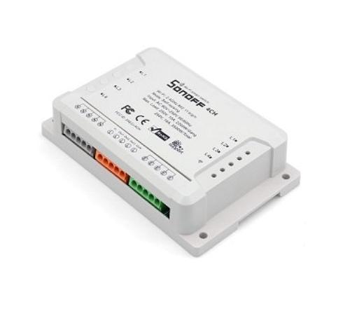 BU-4CH Sonoff R2 4-Kanal WiFi Schalter B-Ware