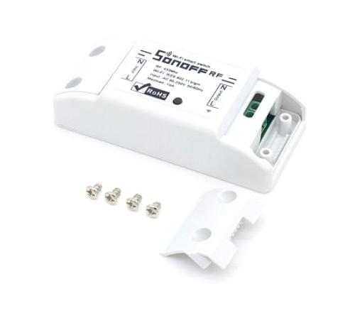 Sonoff BASIC RF 1-Kanal WiFi Einbauschalter mit 433 MHz Funkempfänger