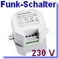 Funk-Einbauschalter CMR-1000