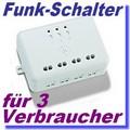 3-fach Funk-Empfänger ITL-3500