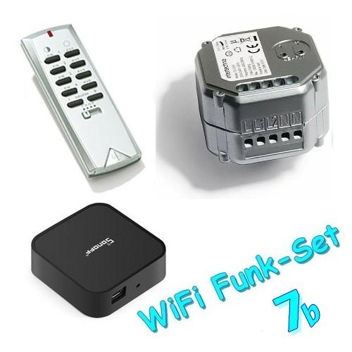 WiFi-Set7b Intertechno-Funkempfänger ITL-2000 mit Funk-Handsender ITS-150 und RF-Bridge