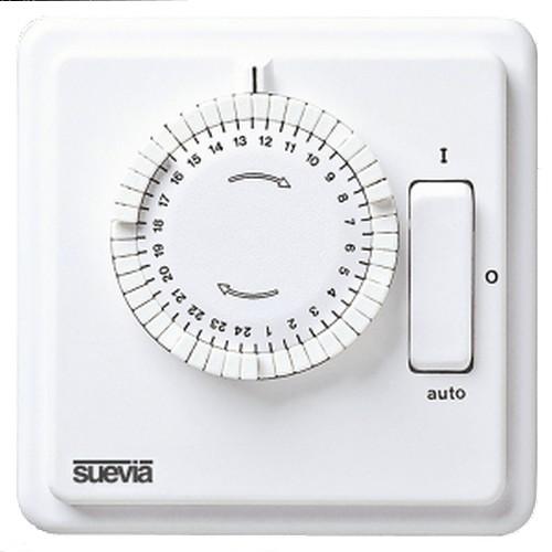 248-T-30 analoge Zeitschaltuhr TAGES-Scheibe zur Unterputzmontage von Suevia SU280447