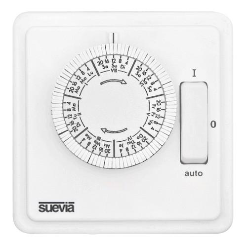 248-W 1,75 analoge Zeitschaltuhr WOCHEN-Scheibe zur Unterputzmontage von Suevia SU280439