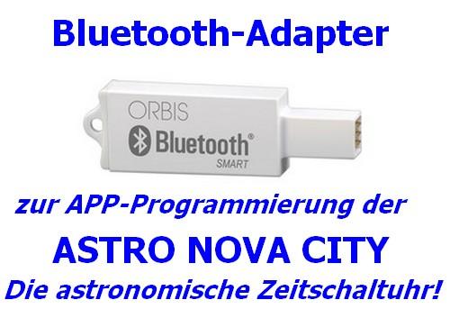 Bluetooth-Stick zur Programmierung der ASTRO UNO und ASTRO NOVA CITY Zeitschaltuhr (Orbis) 40-OB709971