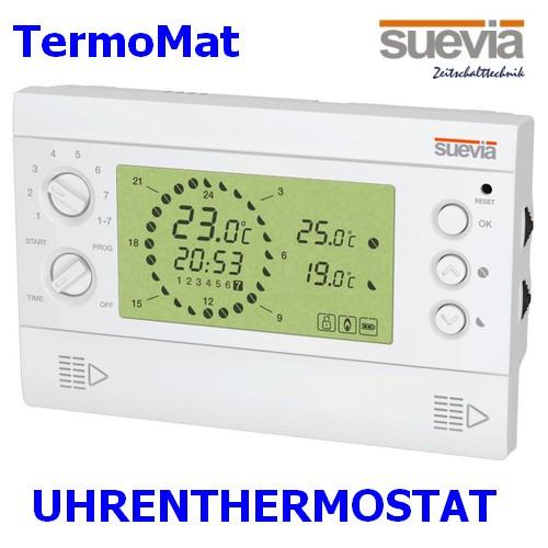 TermoMat Uhrenthermostat von Suevia