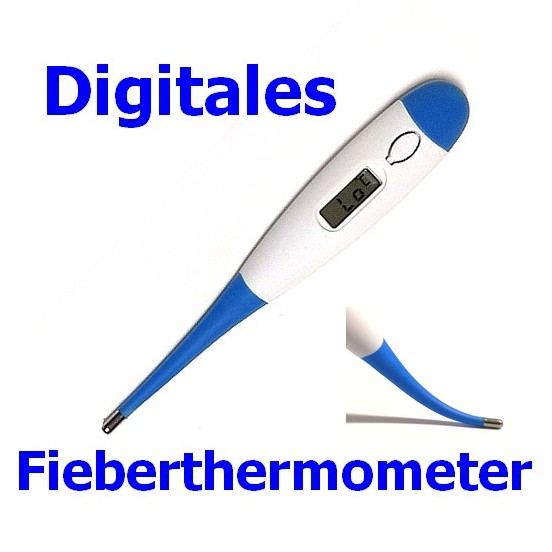 KT-DT4B Digitales Fieber-Thermometer inkl. Schutzhülle