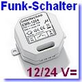 CMR-1224 Funk-Einbauempfänger EIN/AUS 12/24 Volt [klick]