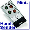 ITKL-2 Mini-Handsender  nur für selbstlernende Empfänger [klick]
