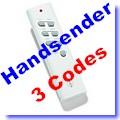 ITT-1500 Handsender  nur für selbstlernende Empfänger [klick]